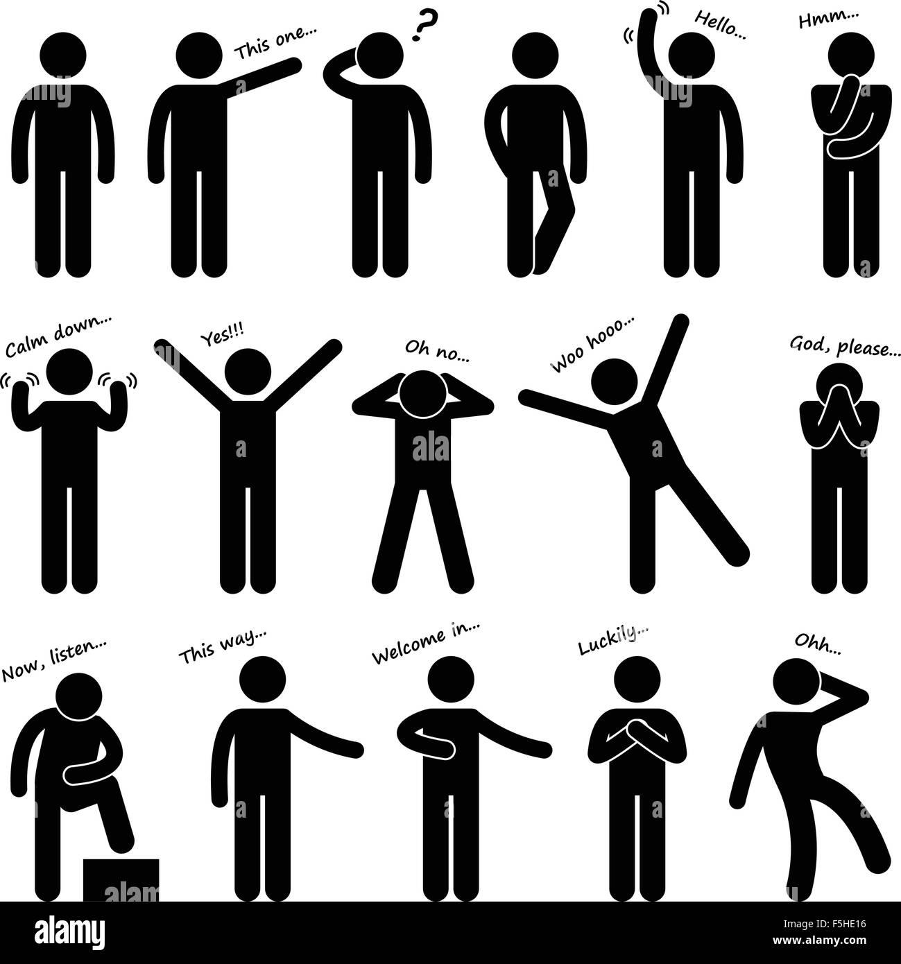 Körpersprache körperhaltung ▷ Körpersprache