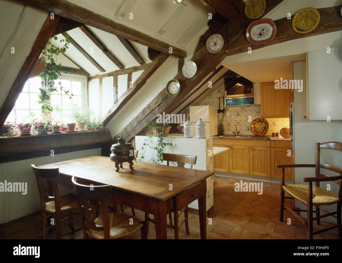 attic stockfotos attic bilder alamy. Black Bedroom Furniture Sets. Home Design Ideas
