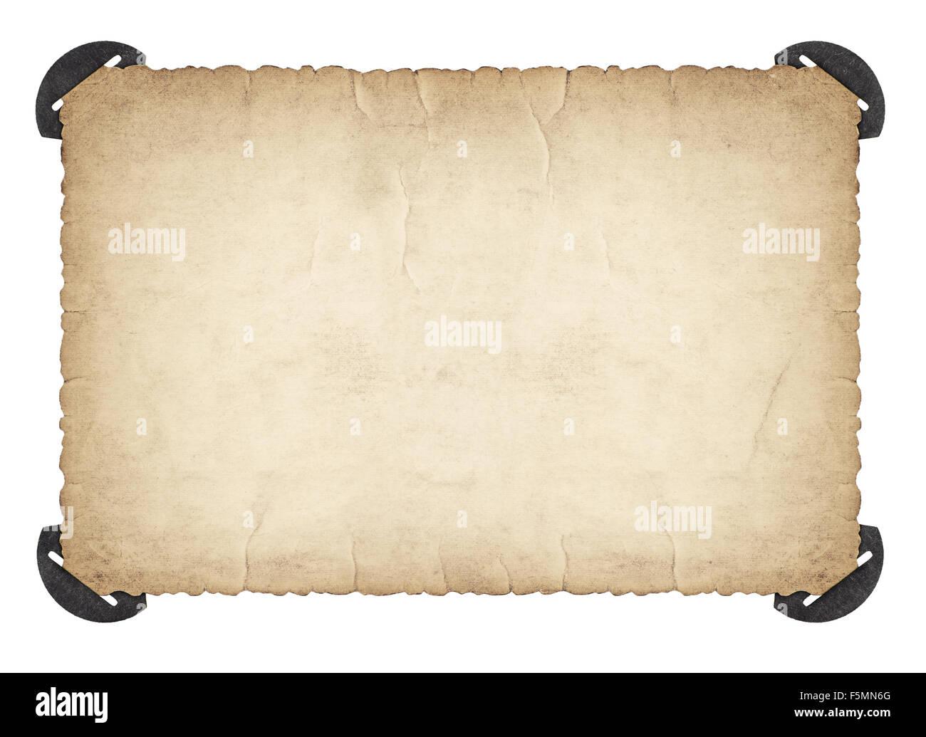 Retro-Bilderrahmen mit Ecke und Kanten. Verwendete Papier Pappe ...
