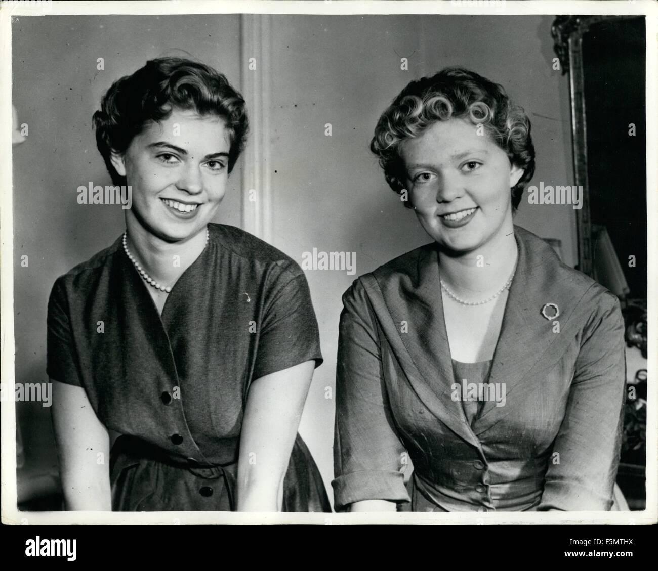 1954 Prinzessin Margaretha Feiert Ihr 20 Geburtstag Alteste
