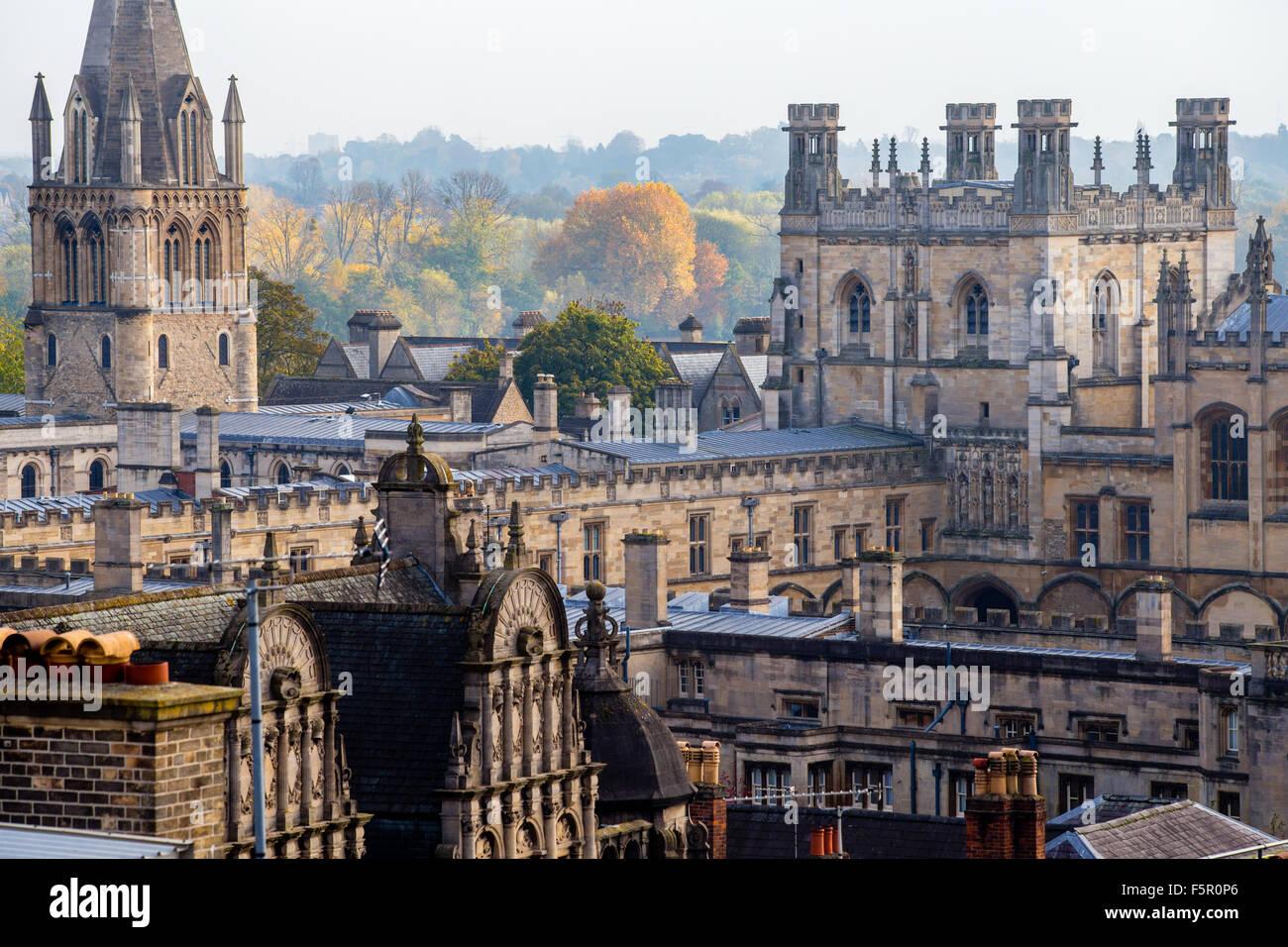 Christ Church College, Oxford Stockbild