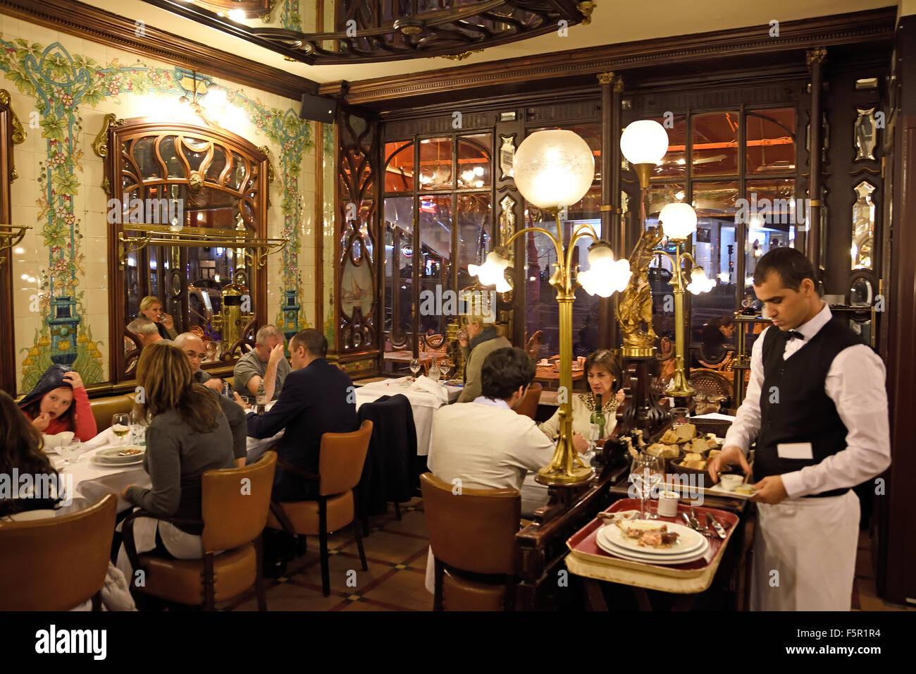 Ciel de paris franzosische restaurant  Restaurant Le Montparnasse-1900 (59 Boulevard du Montparnasse)-Paris ...
