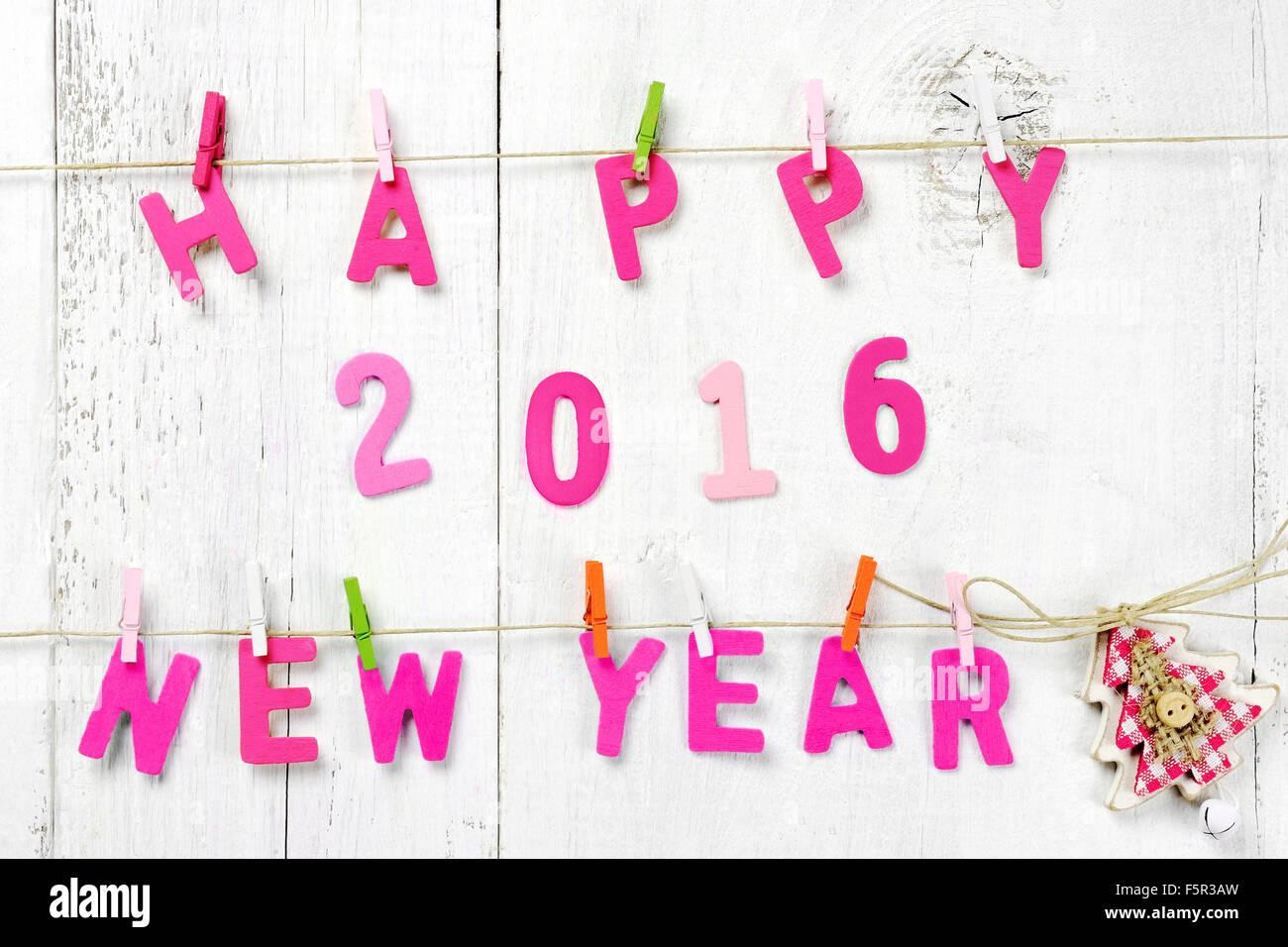 Briefe Für Neues Jahr : Happy new year stockfotos bilder alamy