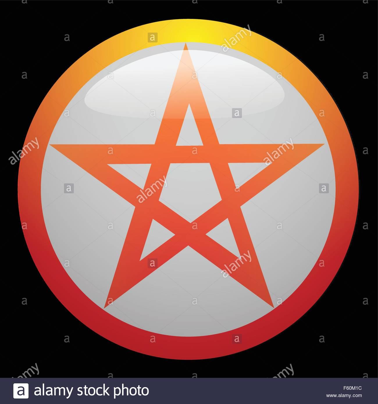 c8.alamy.com/compde/f60m1c/das-magische-symbol-des...