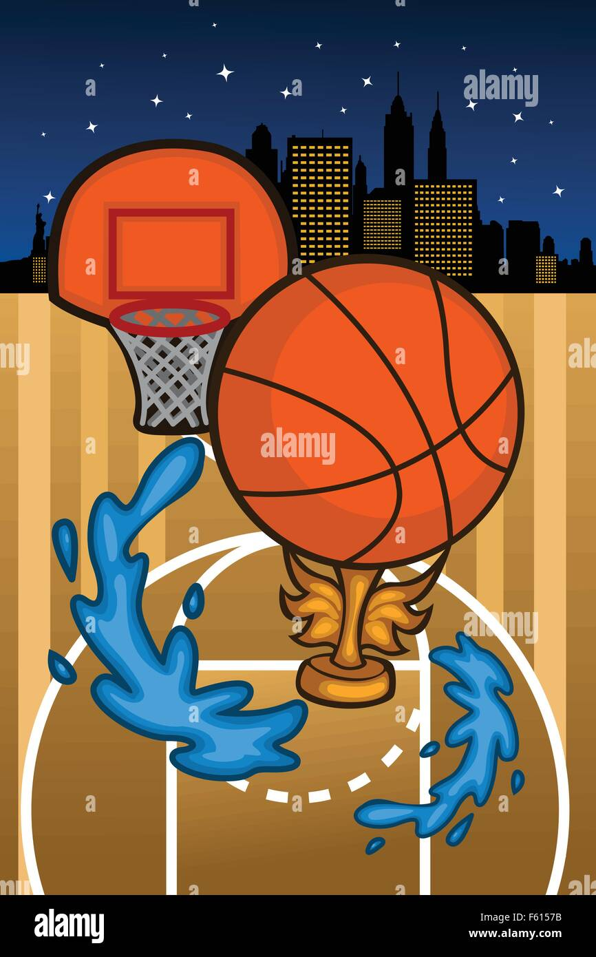 Basketball Poster Background Stockfotos & Basketball Poster ...
