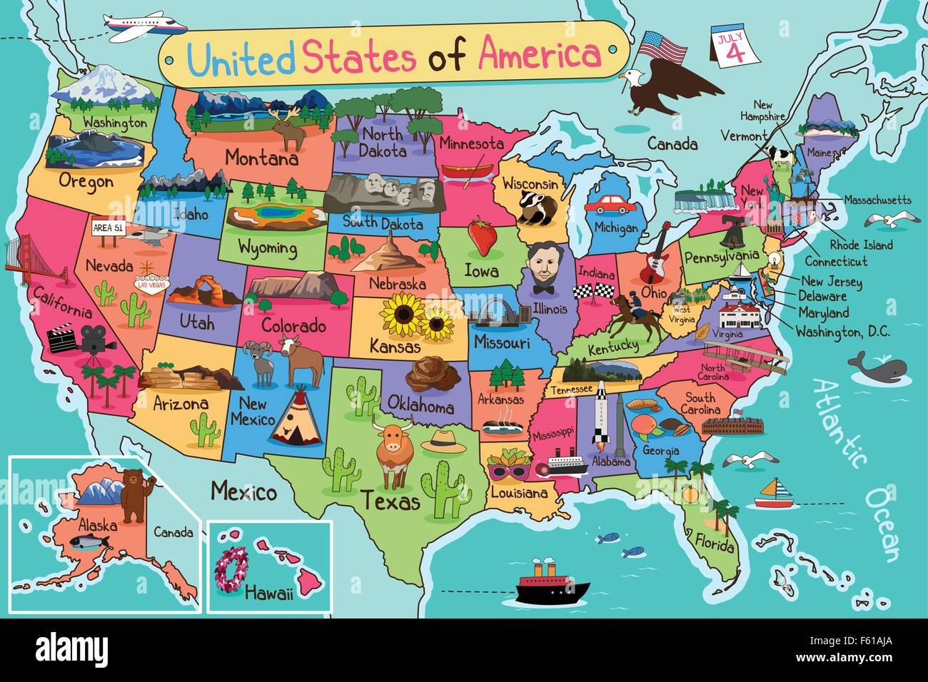 New Mexico Map Stockfotos & New Mexico Map Bilder - Alamy