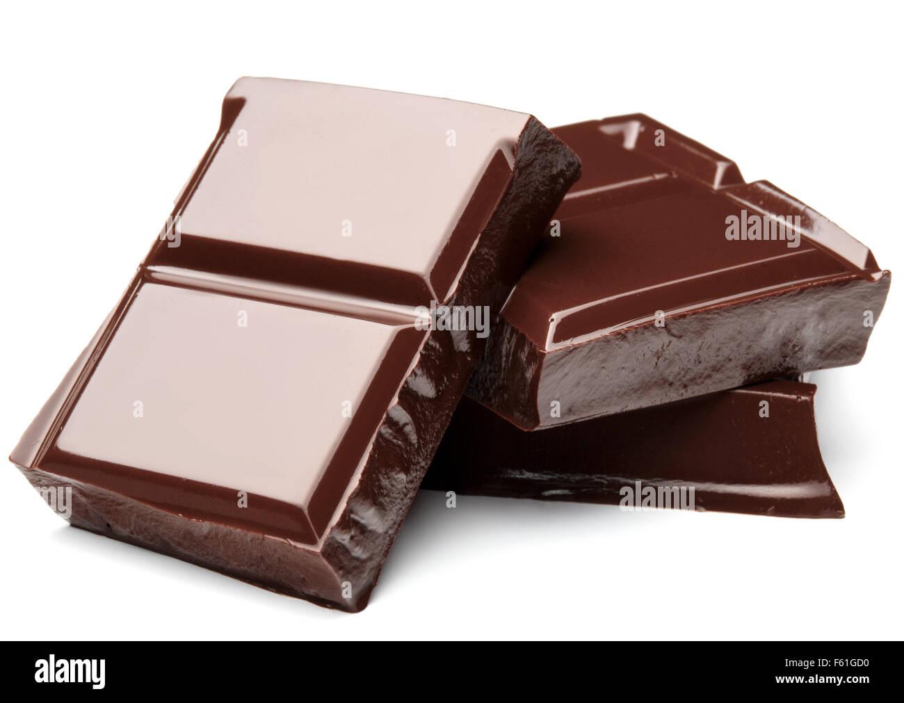 st ck dunkle schokolade isoliert auf wei em hintergrund ausschnitt stockfoto bild 89774636 alamy. Black Bedroom Furniture Sets. Home Design Ideas