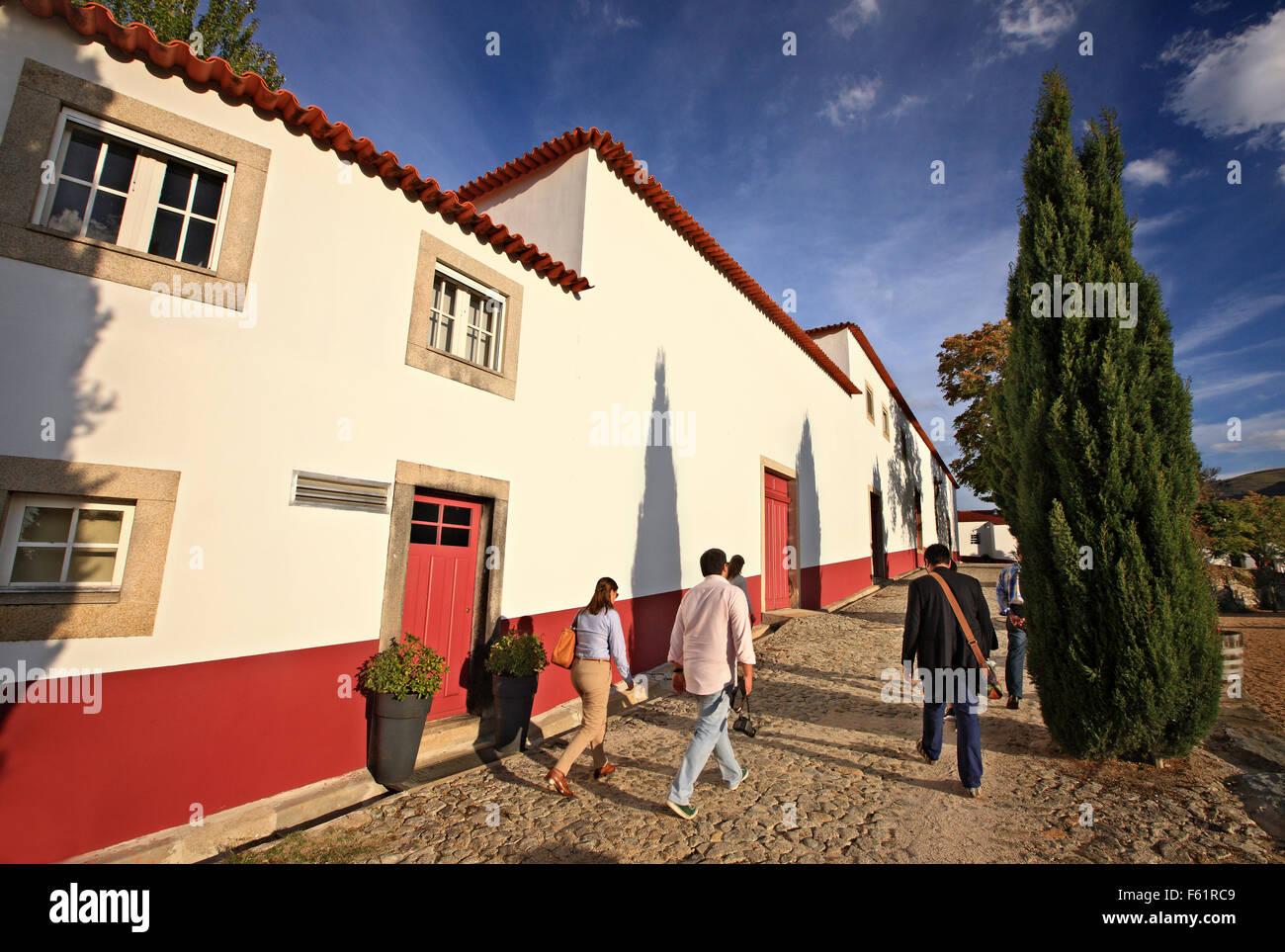 In Quinta Nova luxus Weingut Haus, eine schöne Pension im Douro Tal, Porto e Norte, Portugal. Stockbild