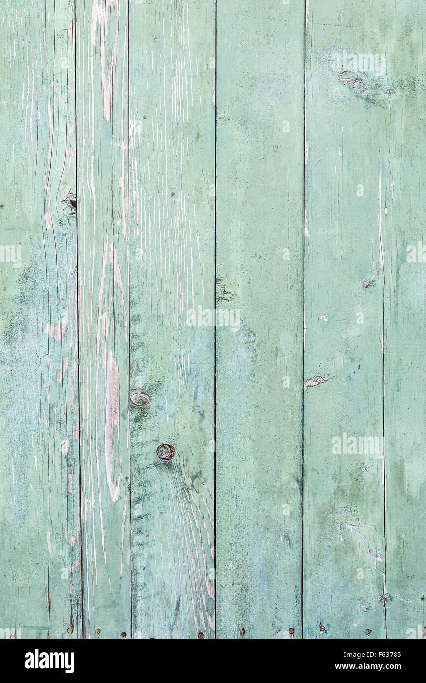 Hintergrundtextur Von Alten Grun Holzerne Bemalte Bretter Zaun