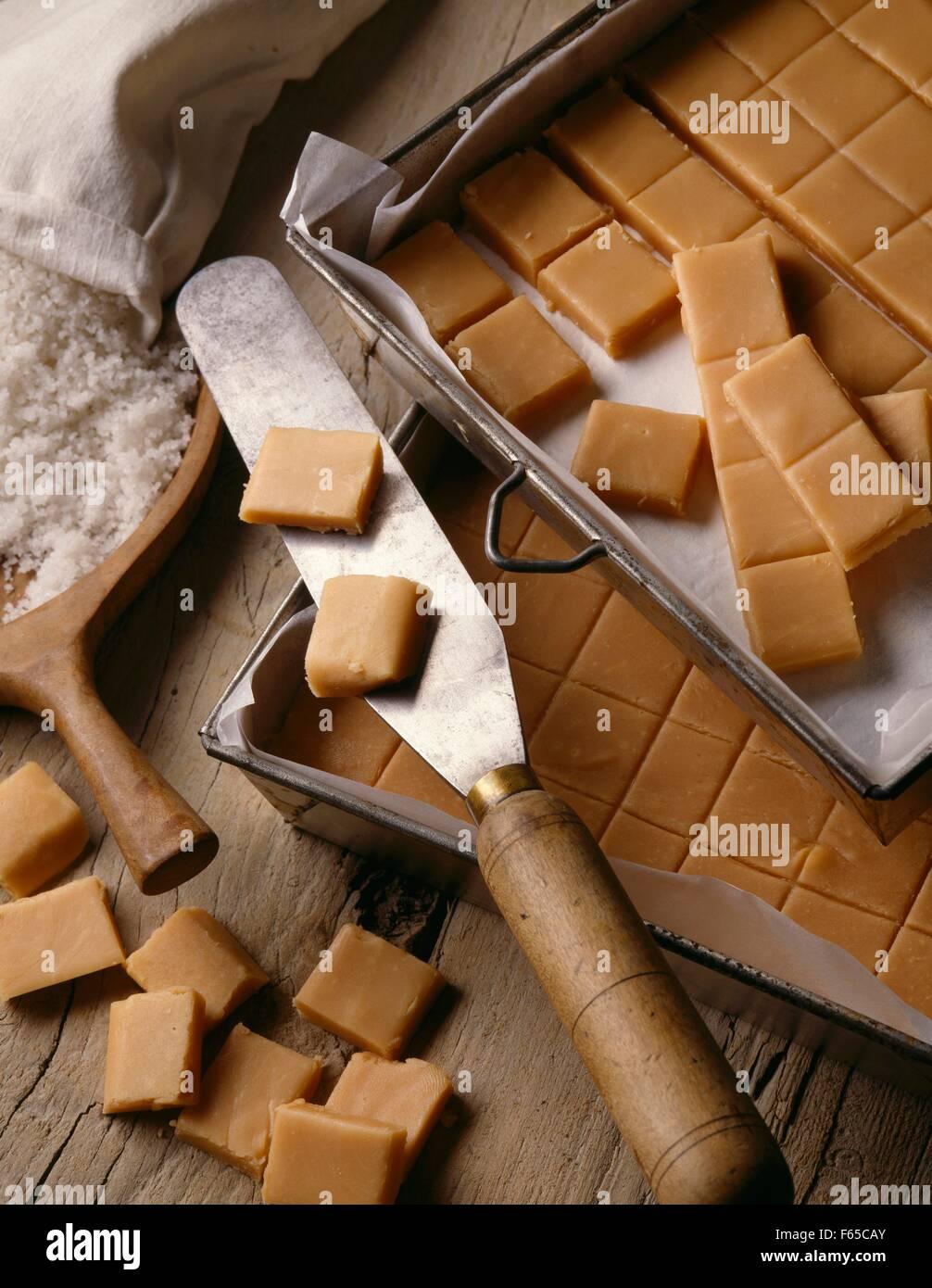 Fudge Stockfoto