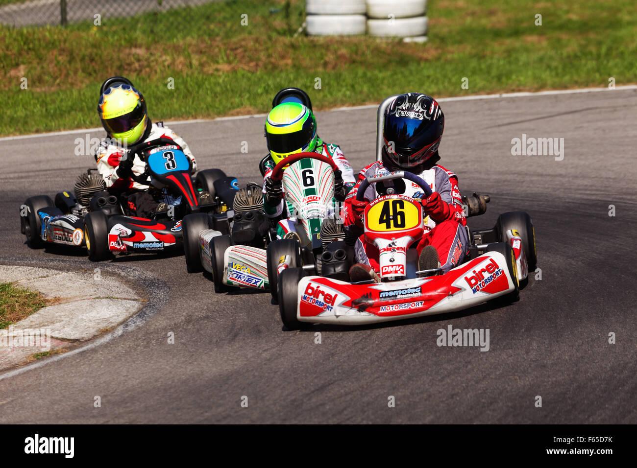 Mick Betsch (No. 6), KSM Racing Team, Bambini A, Urloffen, Deutschland Stockbild