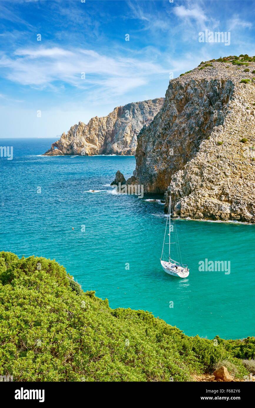 Insel Sardinien - Cala Domestica Bay, Buggerru, Italien Stockbild