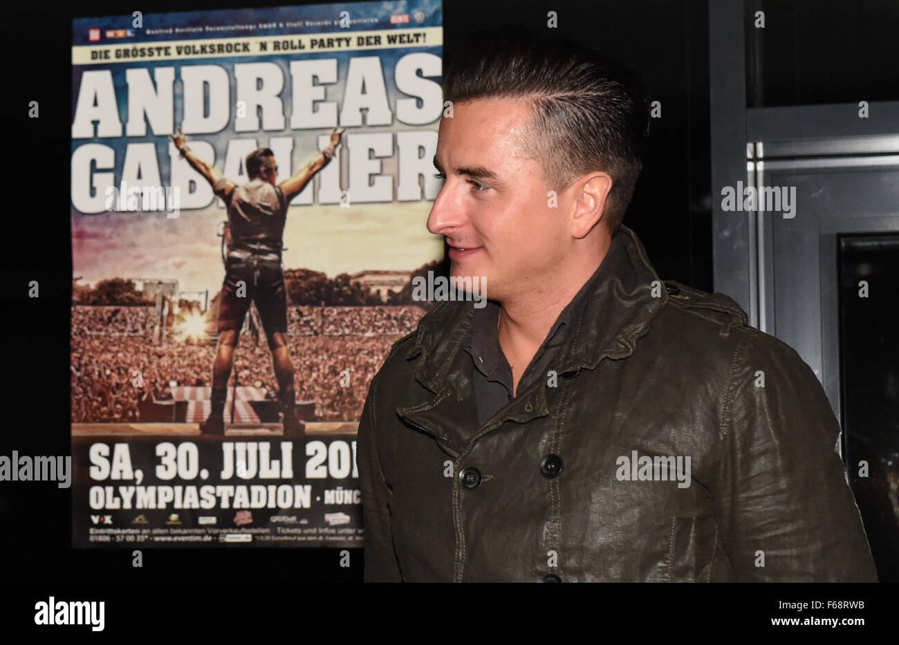 österreichische Sänger Andreas Gabalier Kommt Bei Der Aftershow