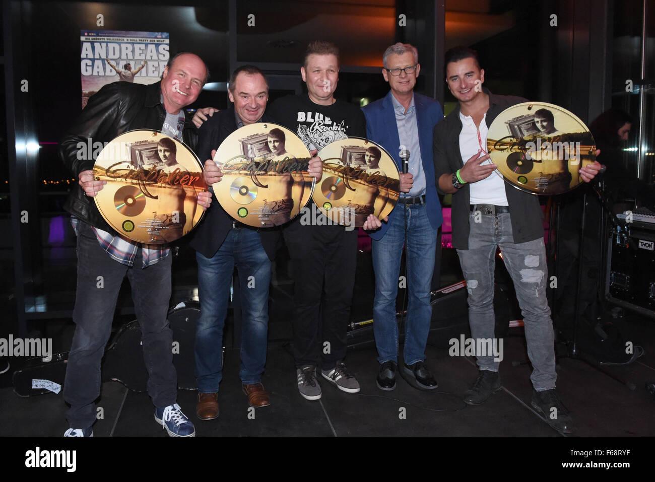 München Deutschland 13 November 2015 Musik Manager Klaus