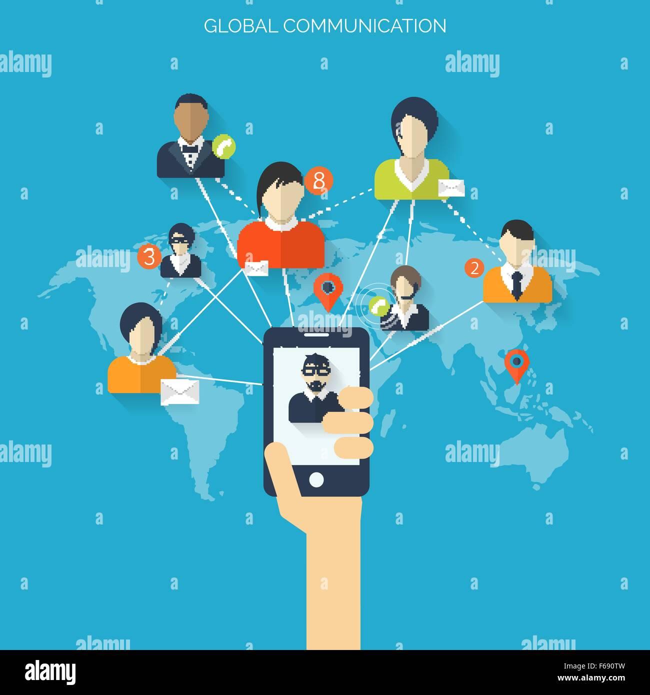 Soziale Chat-Sites