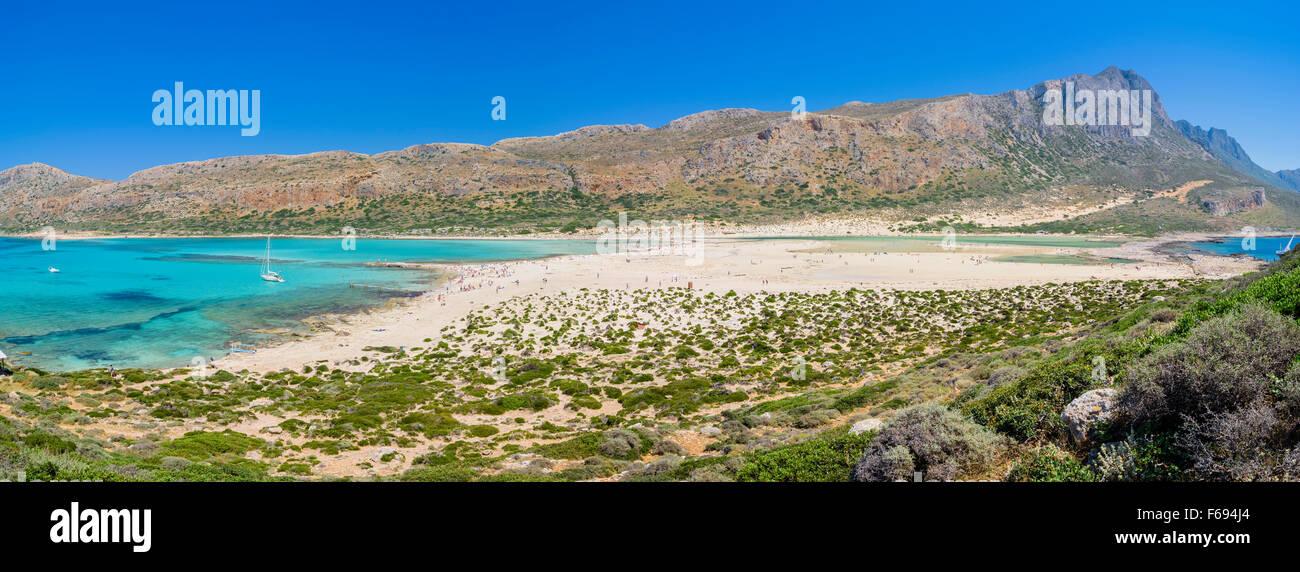Lagune von Balos, Kreta, Lagune von Balos, Crete Stockfoto