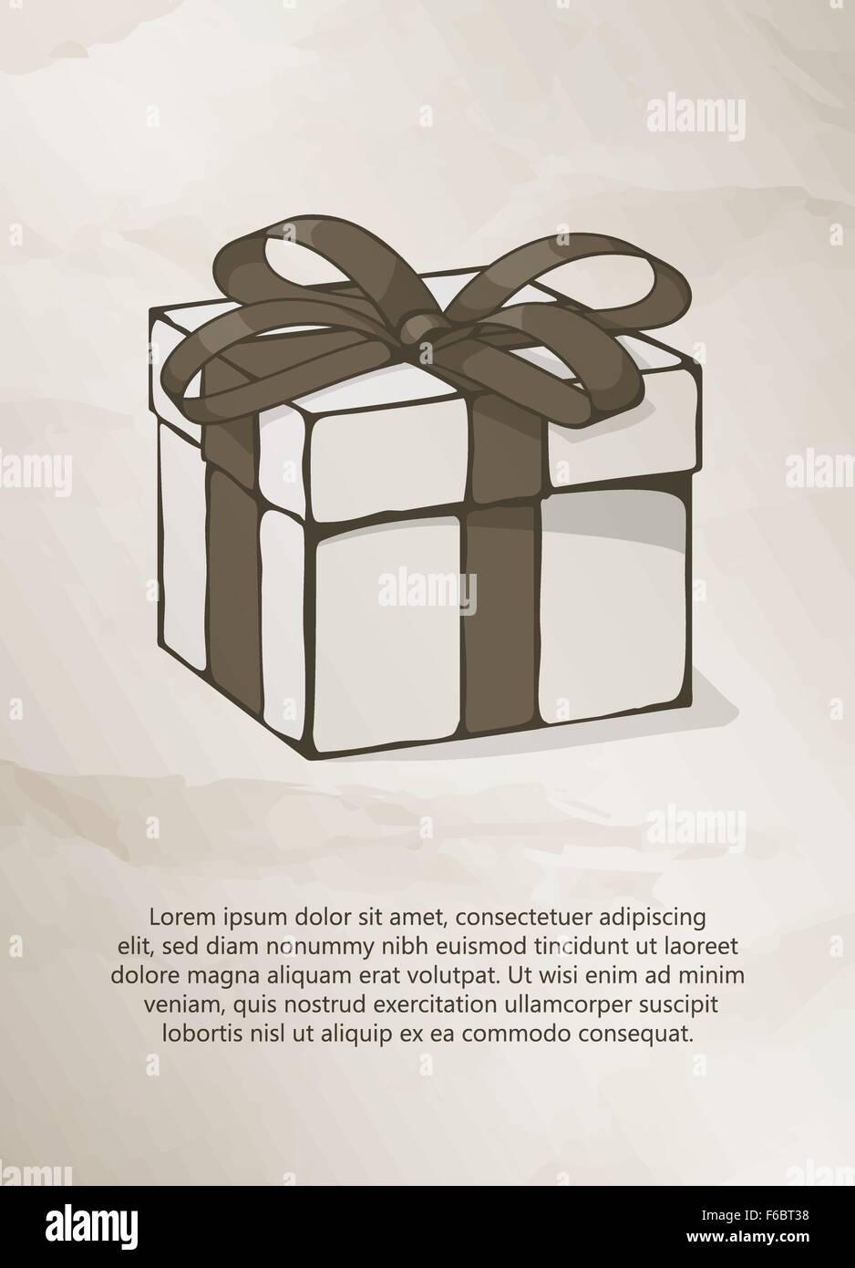 Schön Geschenk Label Vorlage Bilder - Beispielzusammenfassung Ideen ...