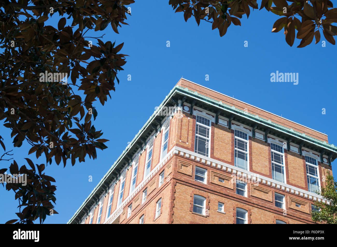 Detailansicht der Hotel Richmond, USA in Richmond, Virginia USA Stockbild