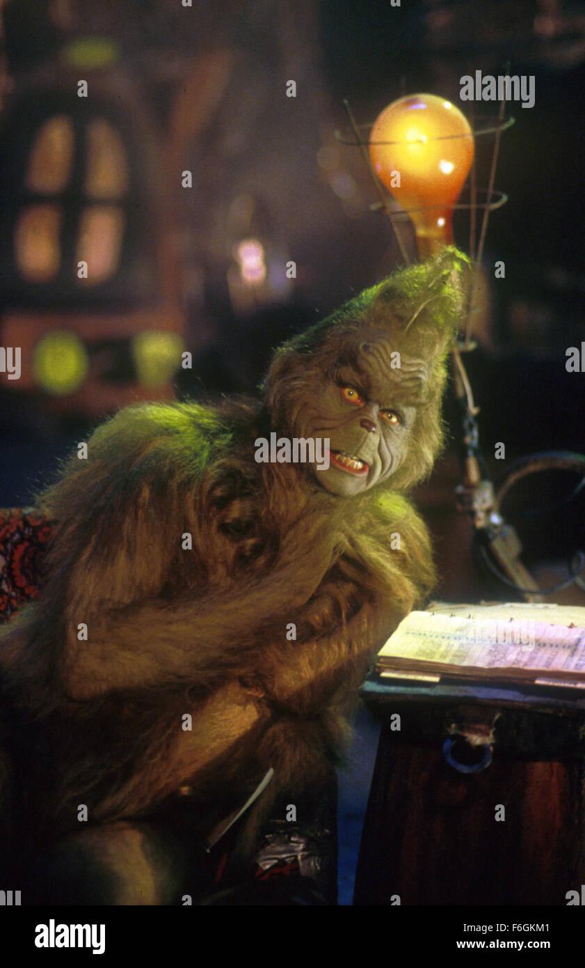 Klassische Stehlen erscheinungsdatum 17 november 2000 filmtitel how the grinch