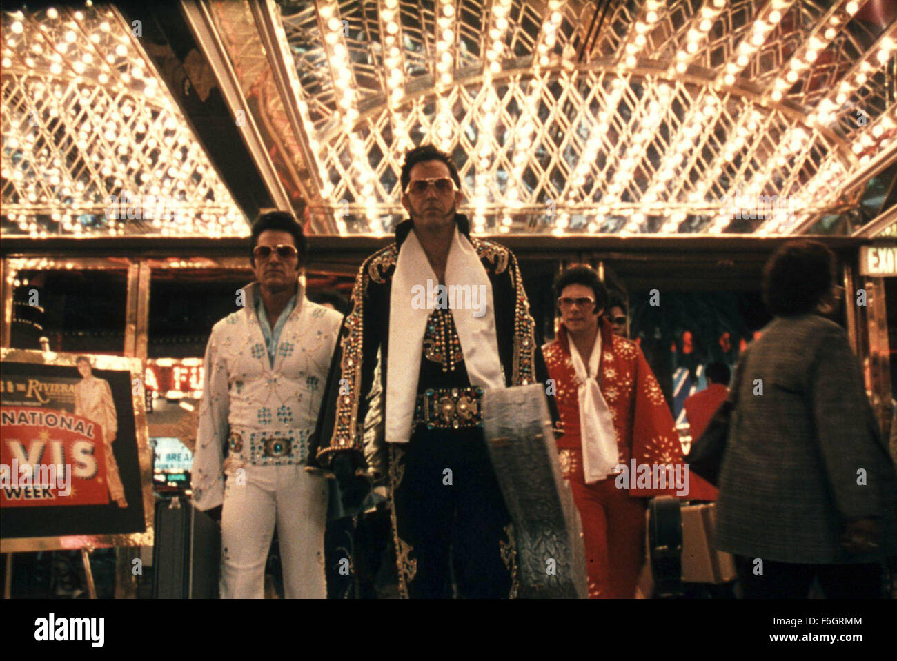 25. Januar 2001; Hollywood, Kalifornien, USA; KURT RUSSELL, KEVIN COSTNER & CHRISTIAN SLATER sind eine Bande Stockbild