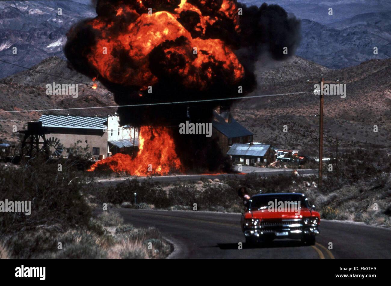 """22. Februar 2001; Hollywood, Kalifornien, USA; """"3000 Miles to Graceland"""" ein Film über eine Bande Stockbild"""