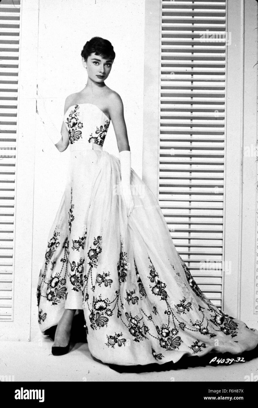 1954, Filmtitel: SABRINA, Regie: BILLY WILDER, im Bild: nackten ...