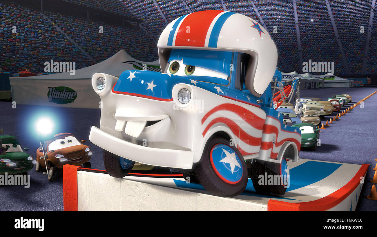 CARS TOONS - die Weltpremiere des Disney/Pixar'sCars Toons, eine neue kurze Zeichentrickserie unter der Regie Stockbild