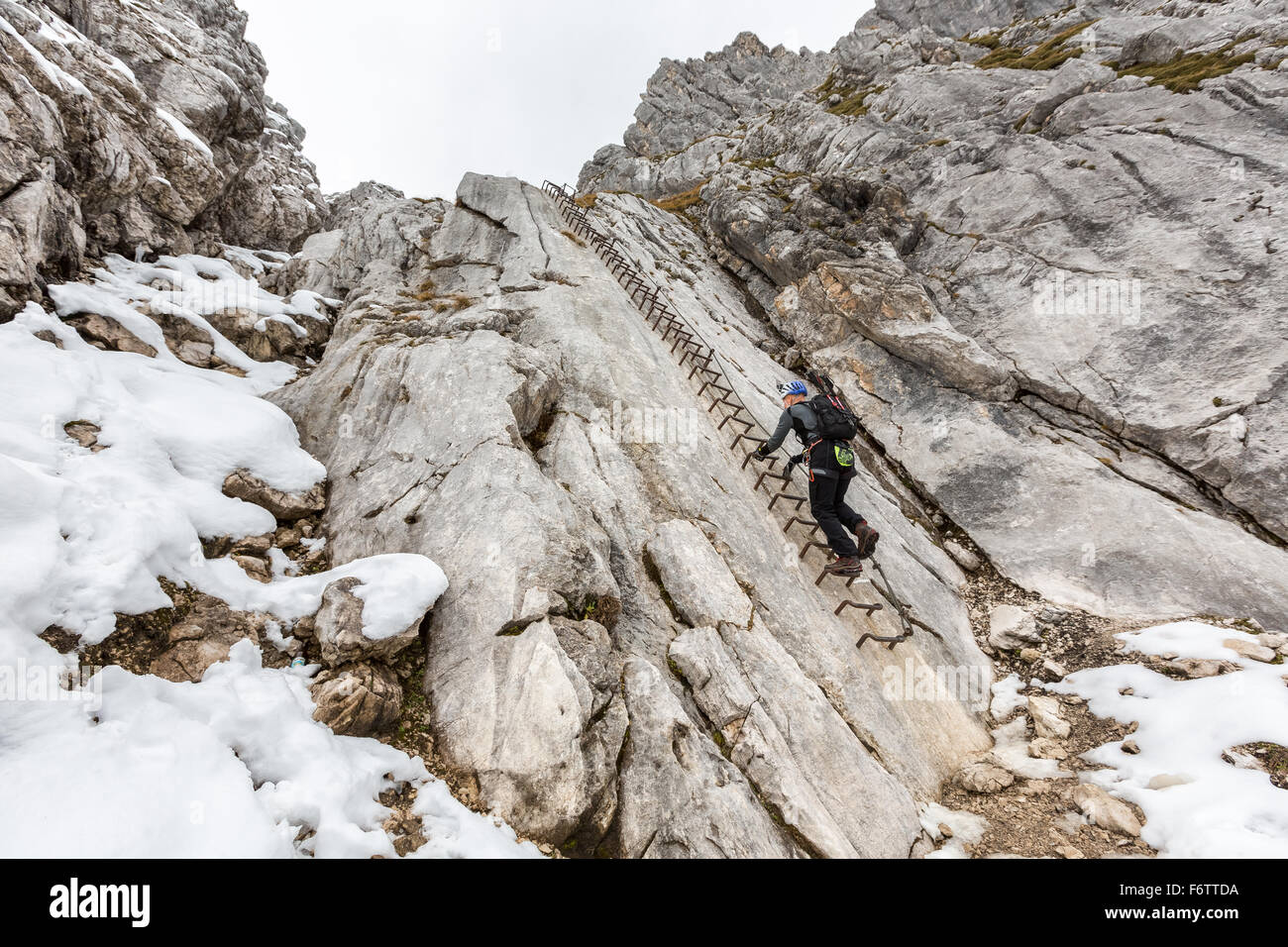 Klettersteig Germany : Auf alpspitze klettersteig garmisch partenkirchen deutschland