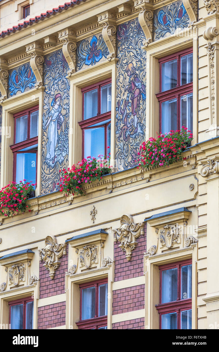 17 Jahrhundert Bild Architektur: Sgraffito Stockfotos & Sgraffito Bilder