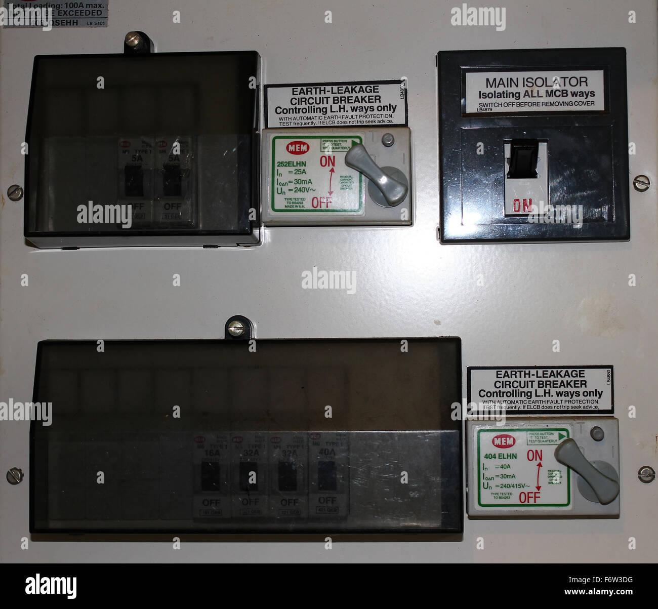 Switch Off Power Uk Stockfotos & Switch Off Power Uk Bilder - Alamy