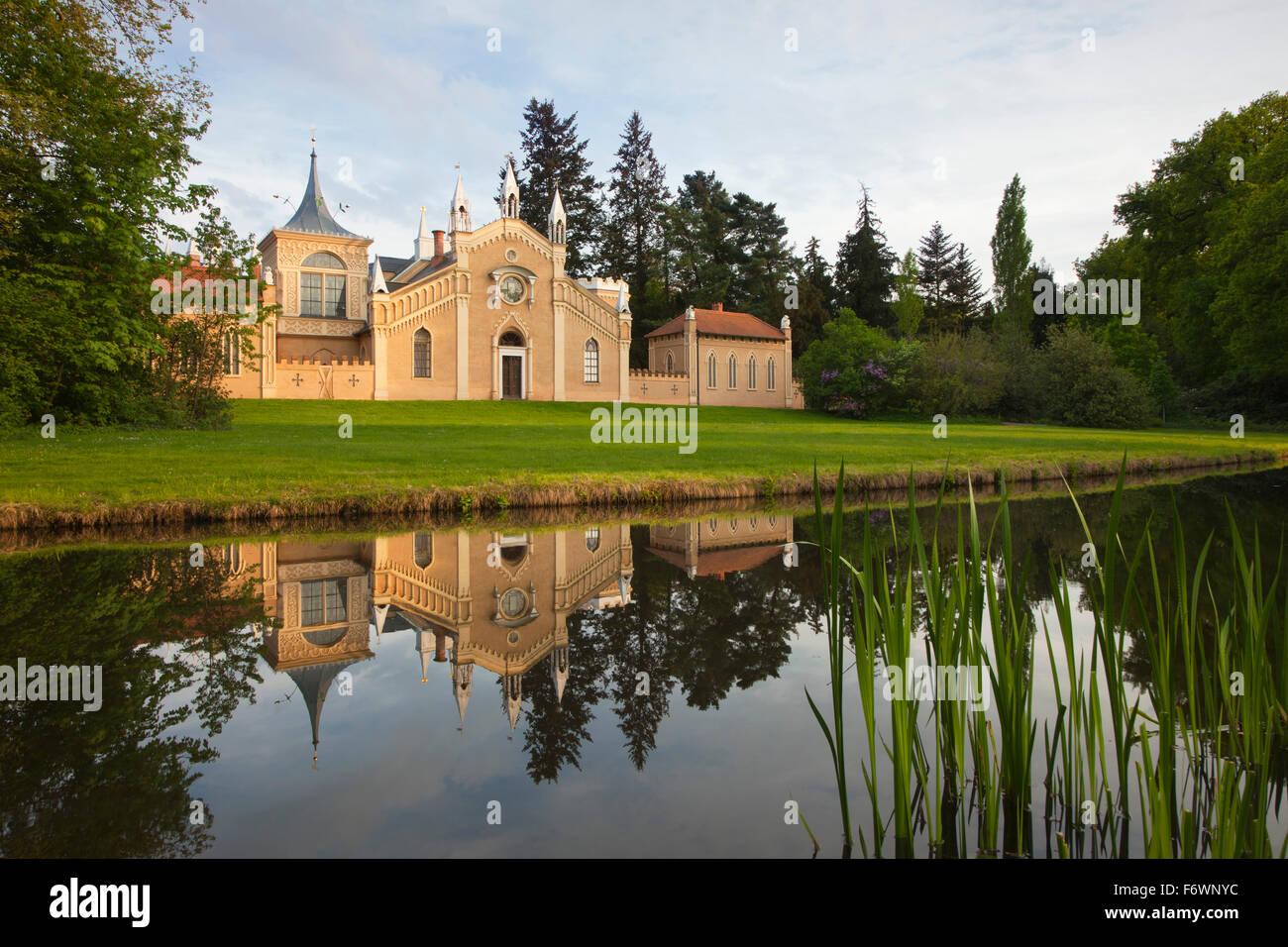 Gotisches Haus Wörlitz UNESCO Welterbe Garten Königreich