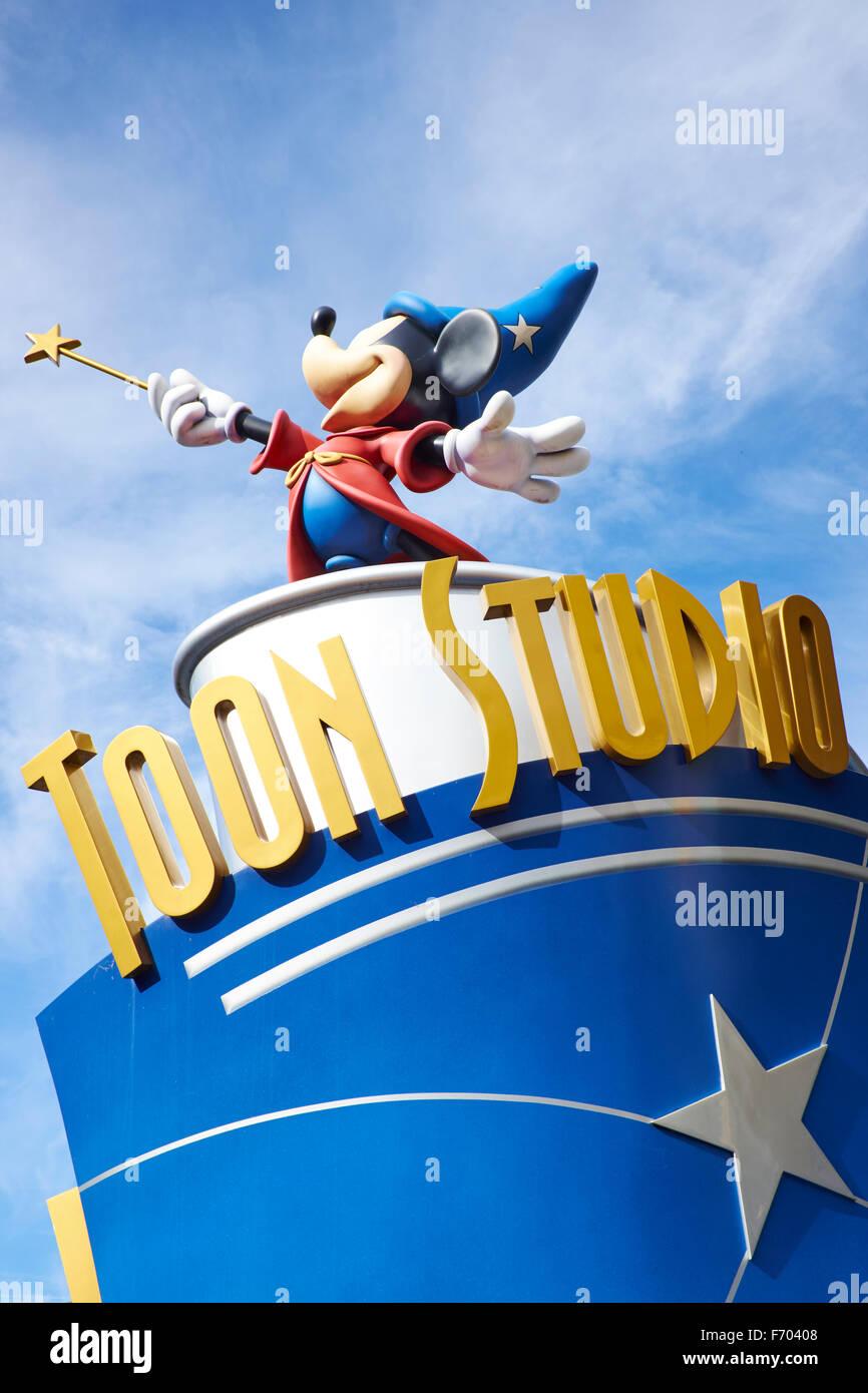Toon Studio Walt Disney Studios Disneyland Paris Marne-la-Vallée Chessy Frankreich Stockbild