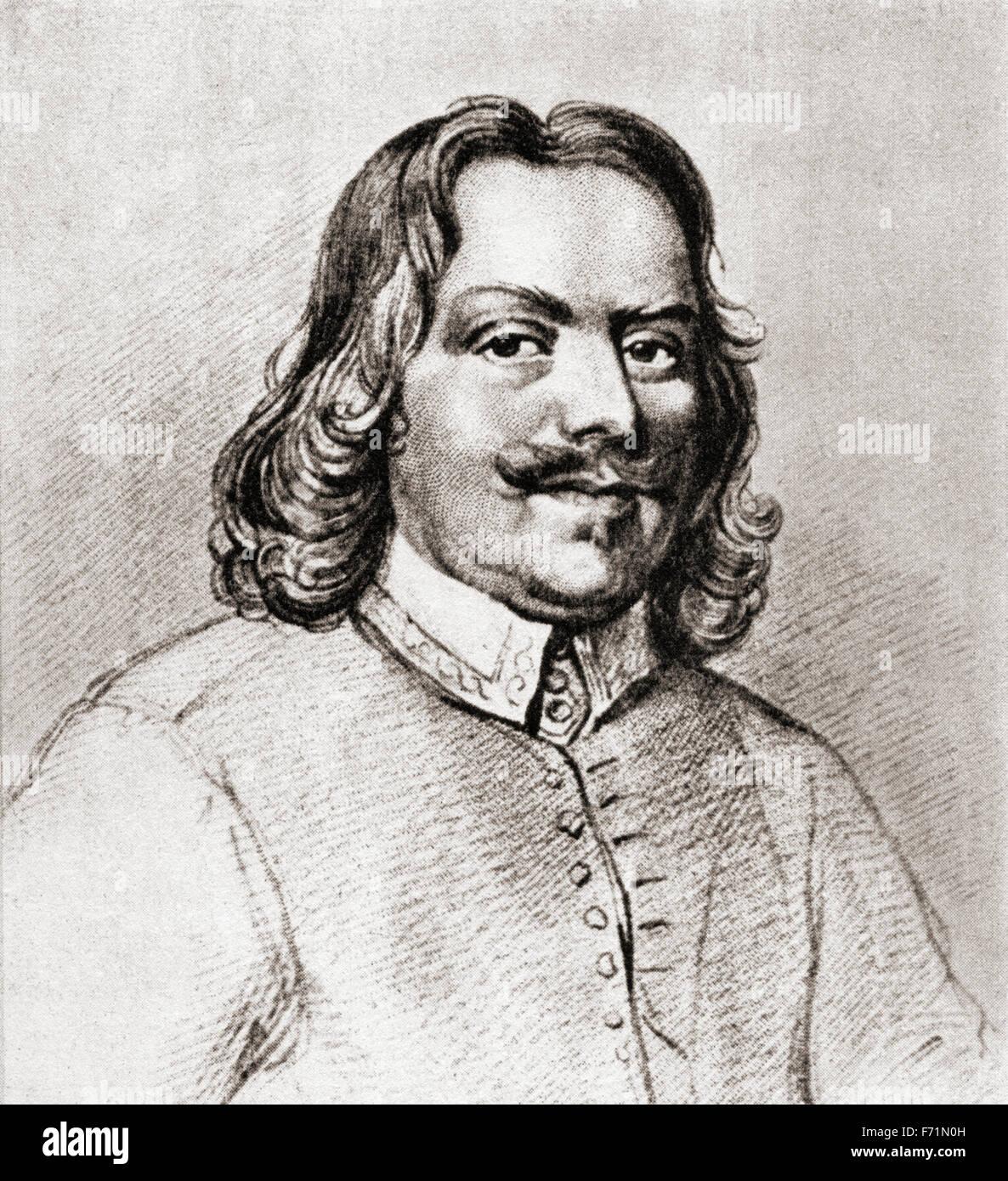 John Bunyan, 1628 ? 1688.  Englischer Schriftsteller und Baptisten-Prediger. Stockbild