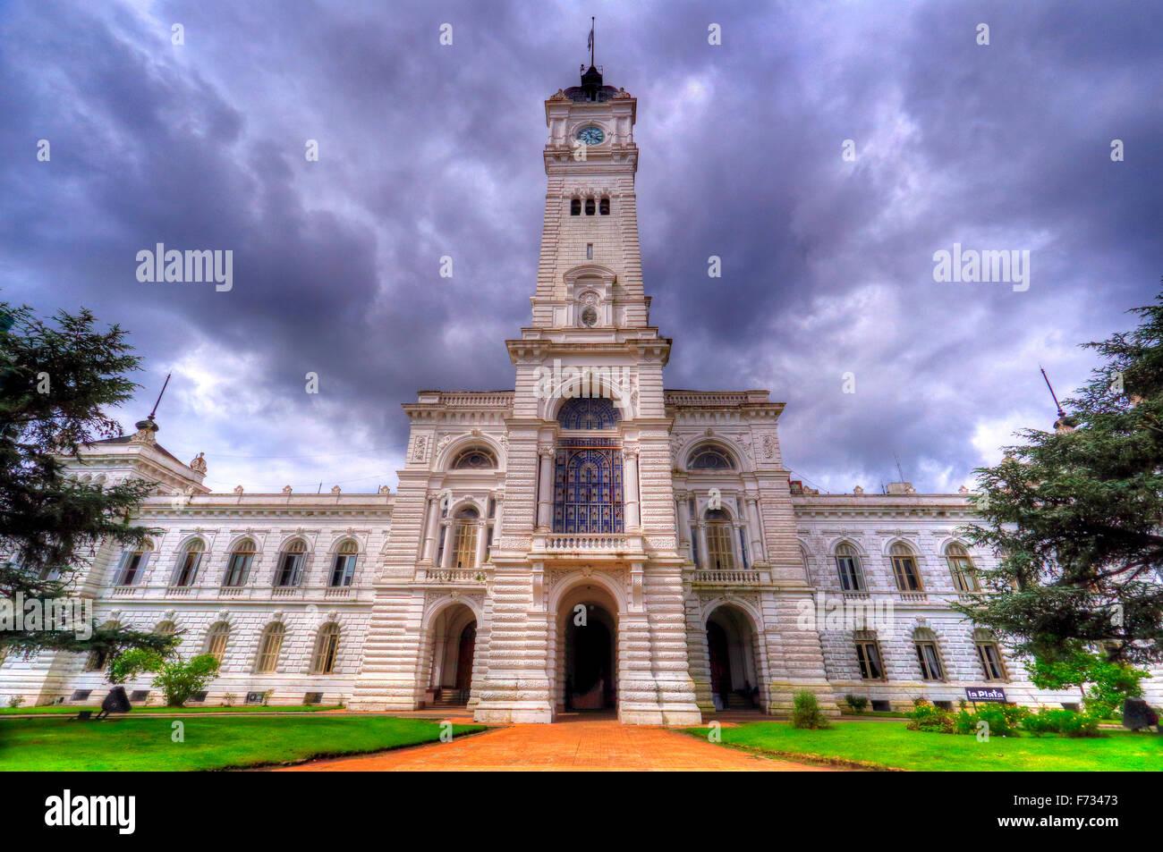 La Plata Regierung Palast, Buenos Aires, Argentinien Stockbild