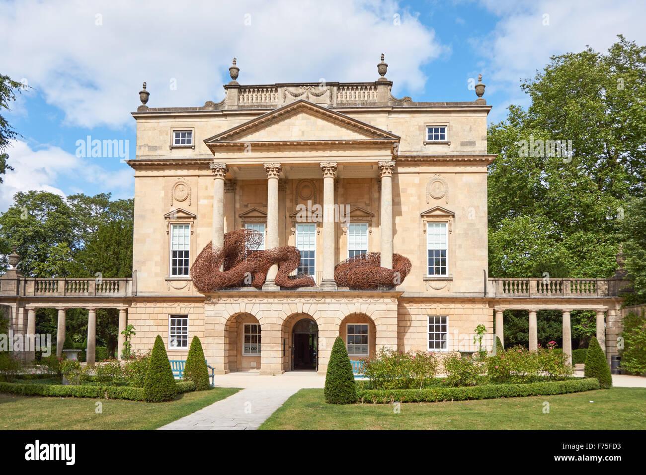 Das Holburne Museum in Sydney Gardens, Bath Somerset England Vereinigtes Königreich Großbritannien Stockbild
