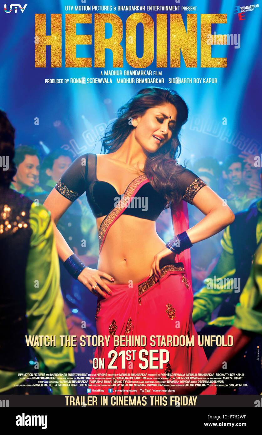 Hindi Film Film Poster Der Heldin Stockfoto Bild 90488434 Alamy