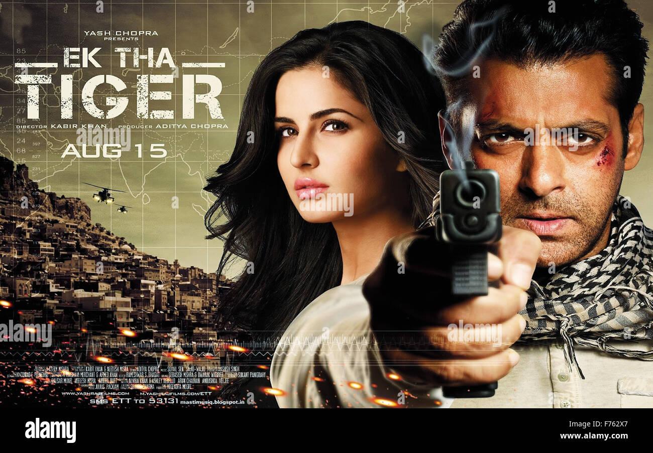 Indische Bollywood Hindi Film Movie Poster Von Ek Tha Tiger