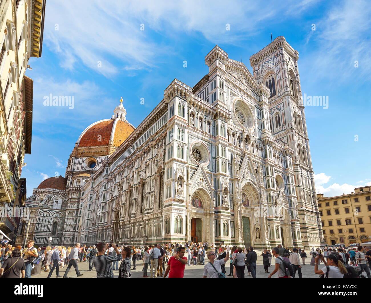 Kathedrale von Santa Maria del Fiore, Florenz, Toskana, Italien Stockbild
