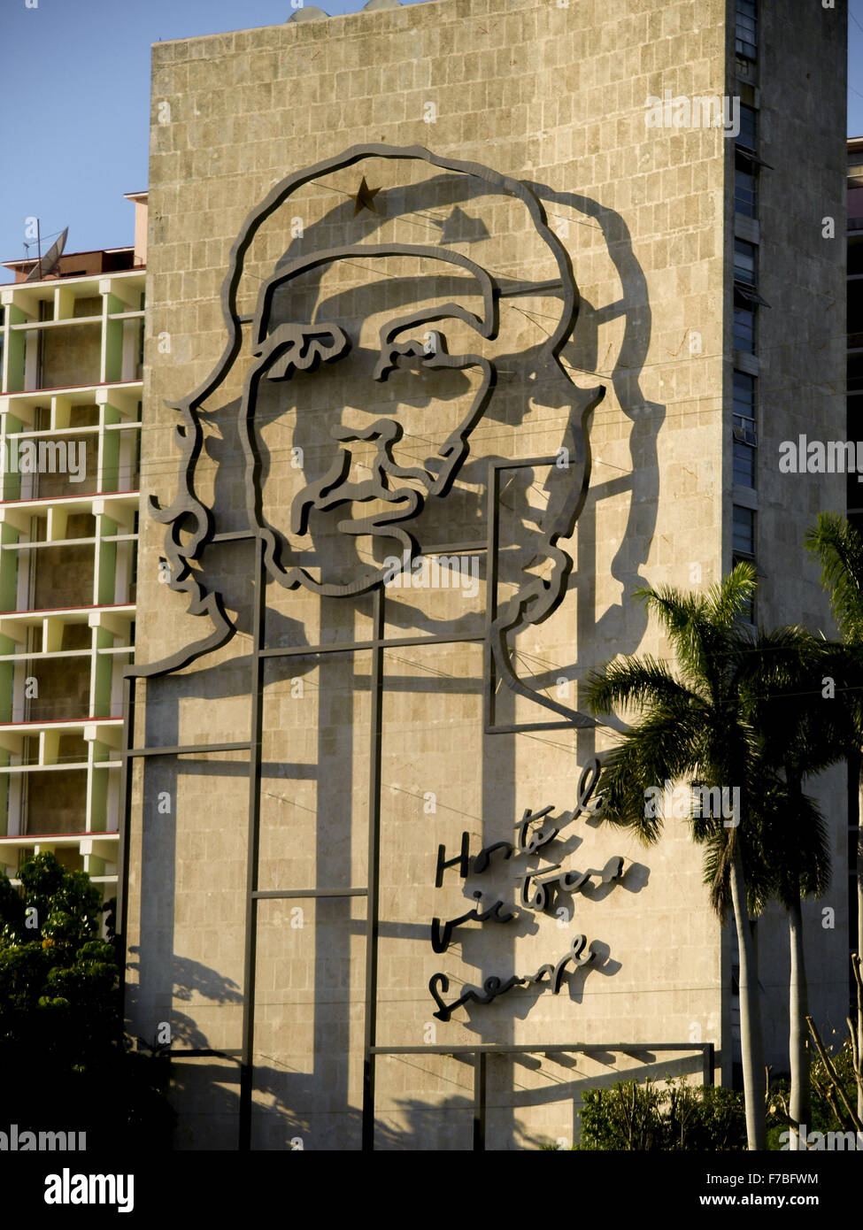 Cuba, Che Guevara, Havanna Stockbild