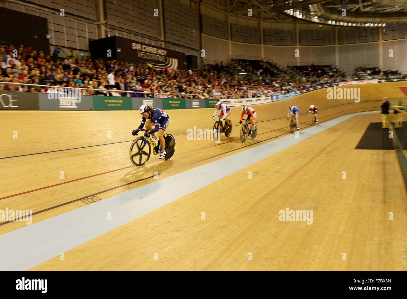 Glasgow. 28. November, Runde 2015.Revolution Serie vier. Womens längste Runde Credit: Dan Cooke/Alamy Live Stockbild