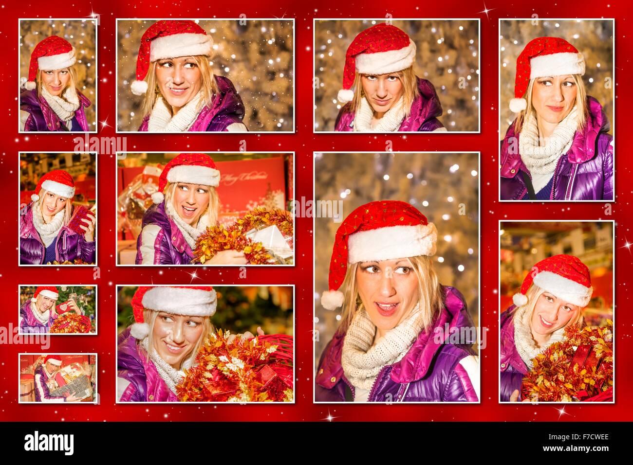 Weihnachtsbilder Suchen.Weihnachtsbilder Collage Stockfoto Bild 90637862 Alamy