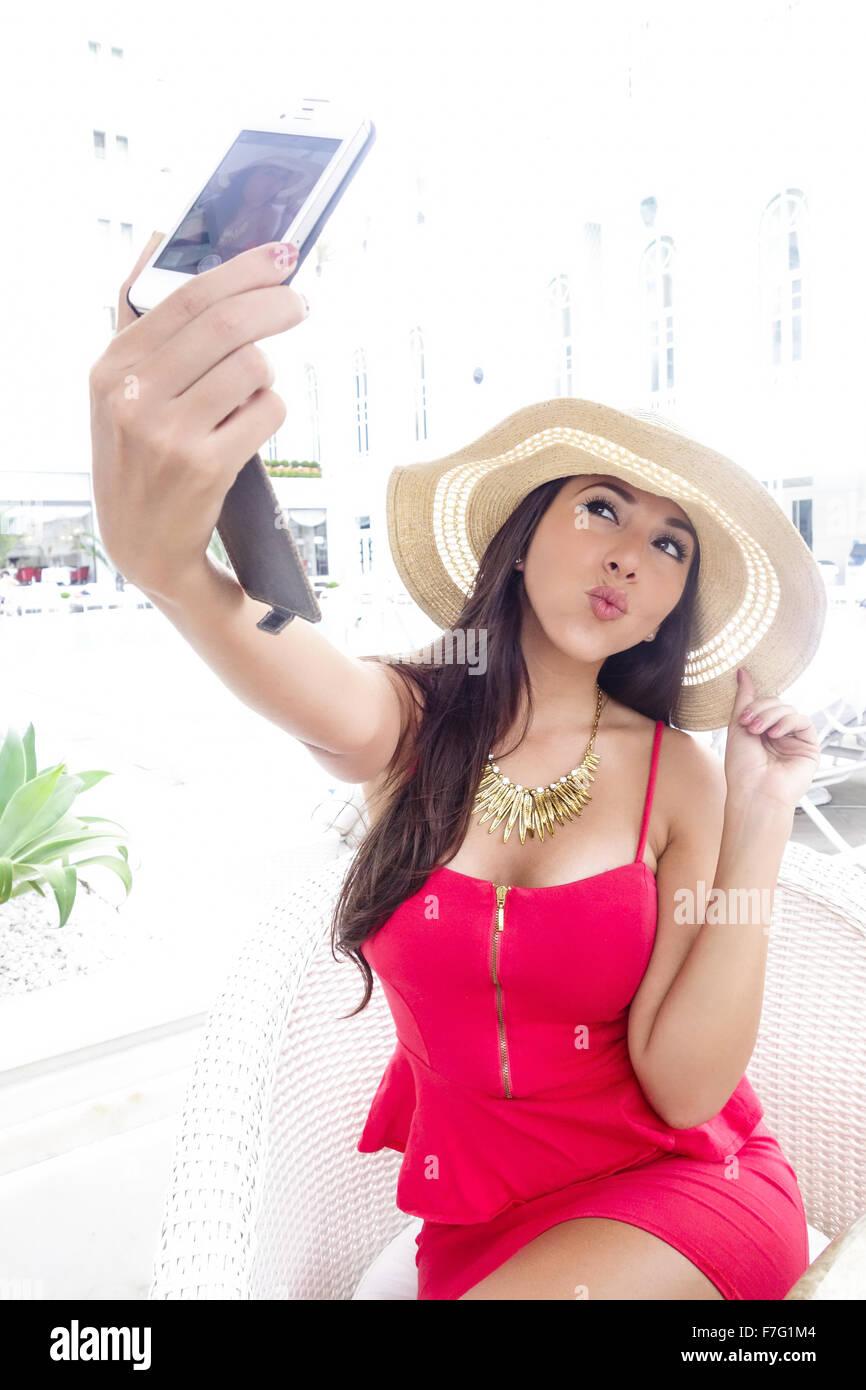 schöne mexikanische Mädchen