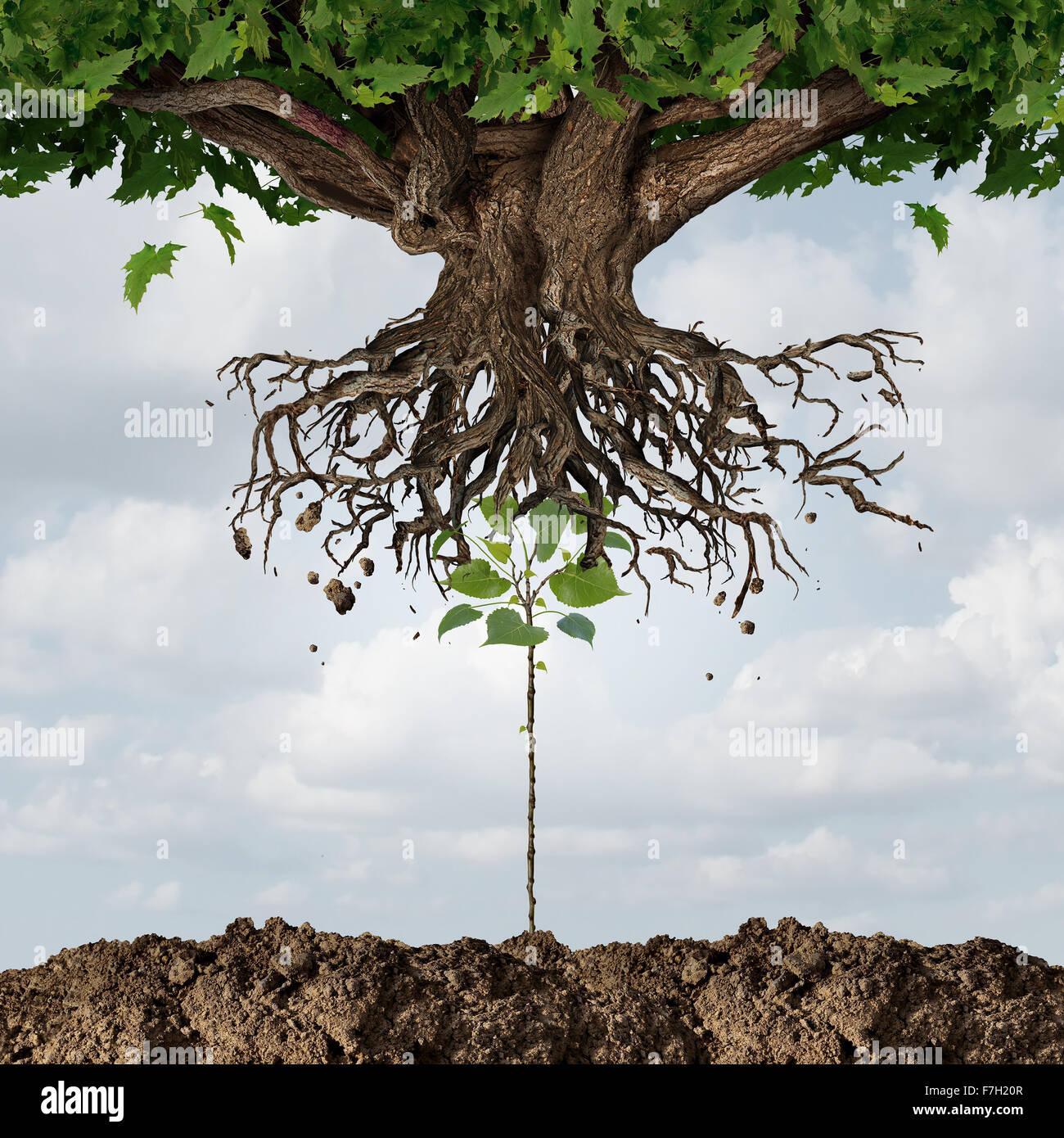 Neue Führung Übernahme oder Übernahme Konzept oder Entwicklung und Erneuerung Geschäft Symbol Stockbild