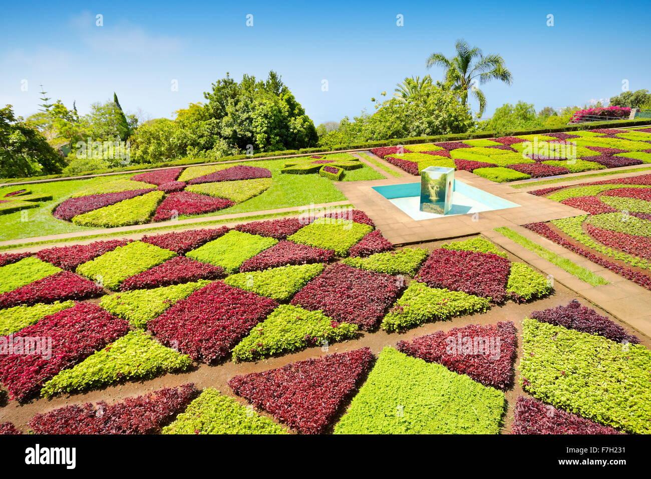 Die Madeira Botanischer Garten - Funchal, Madeira Insel, Portugal Stockbild