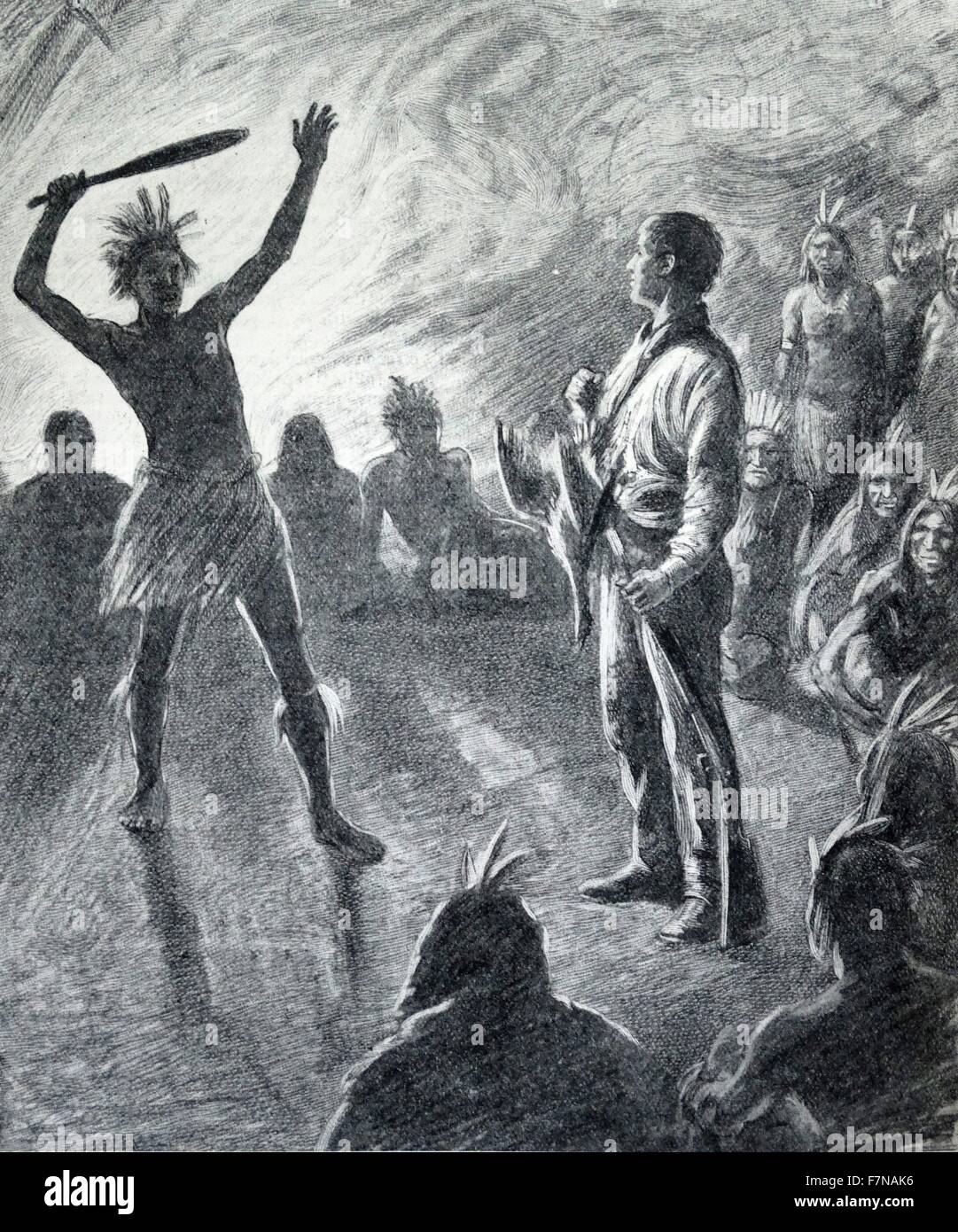 Weiße Frau indianischen Mann datiert
