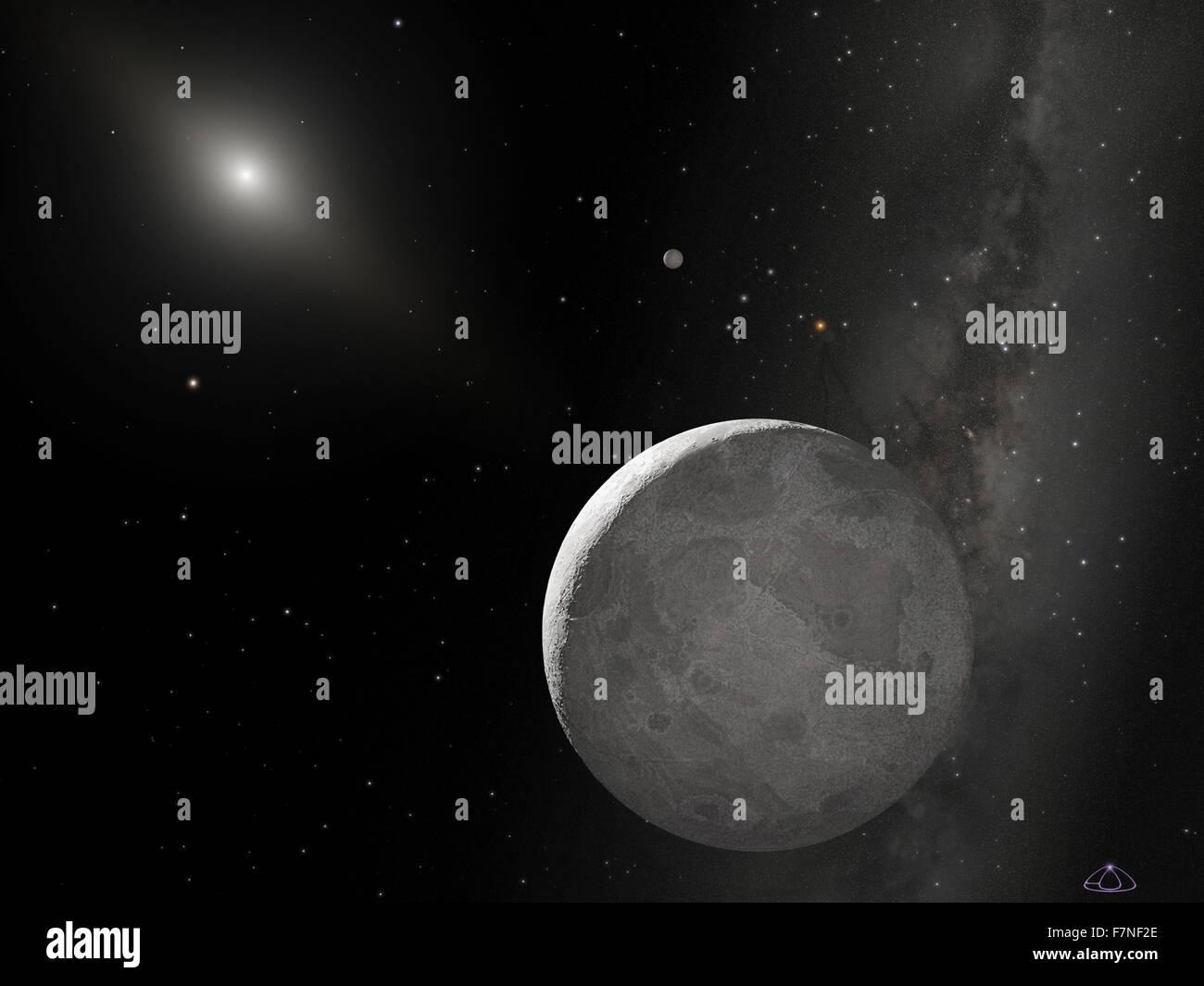 Hubble teleskop bild des zehnten planeten derzeit den spitznamen