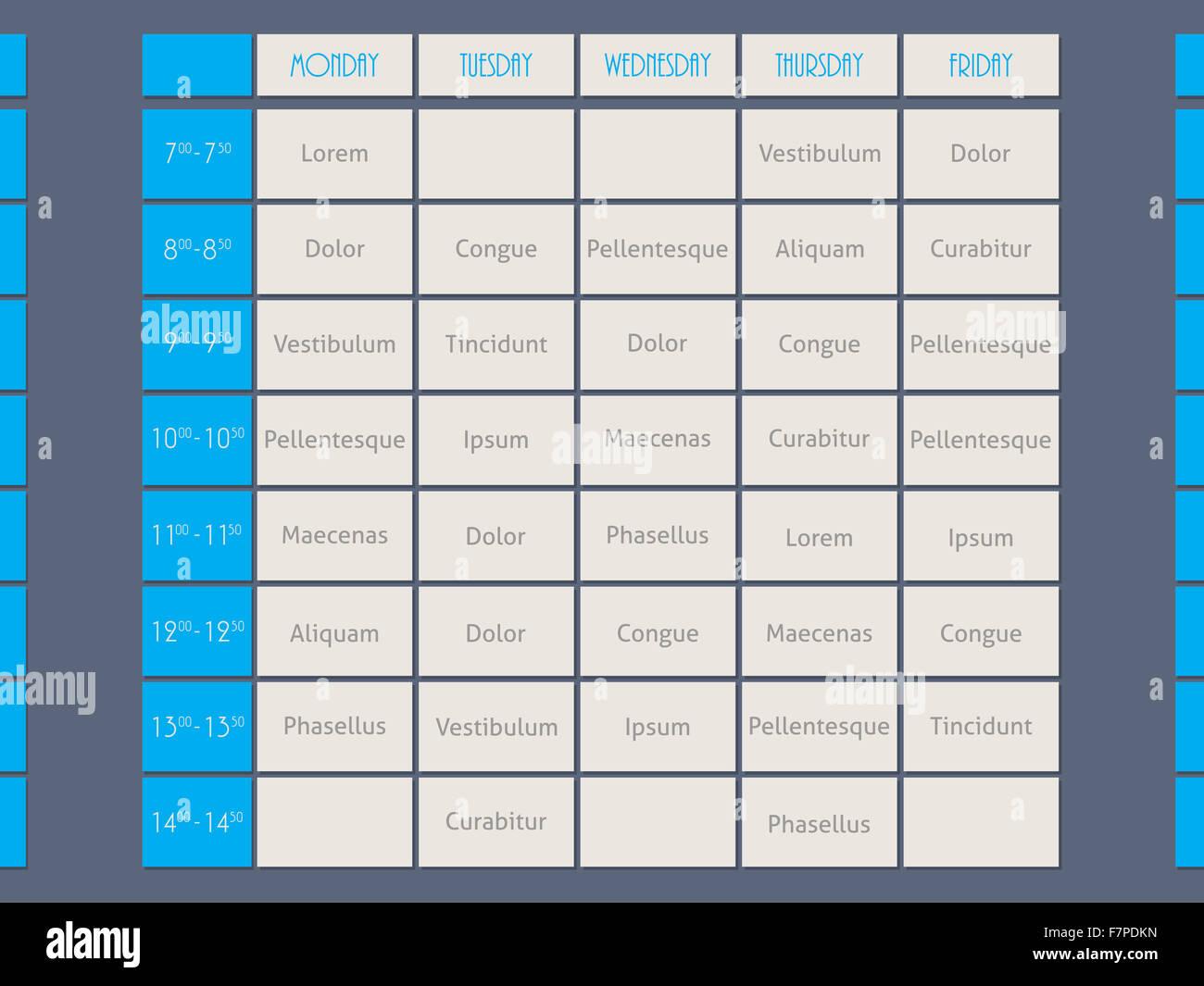 Nett Arbeitsstunden Zeitplan Vorlage Zeitgenössisch - Ideen ...