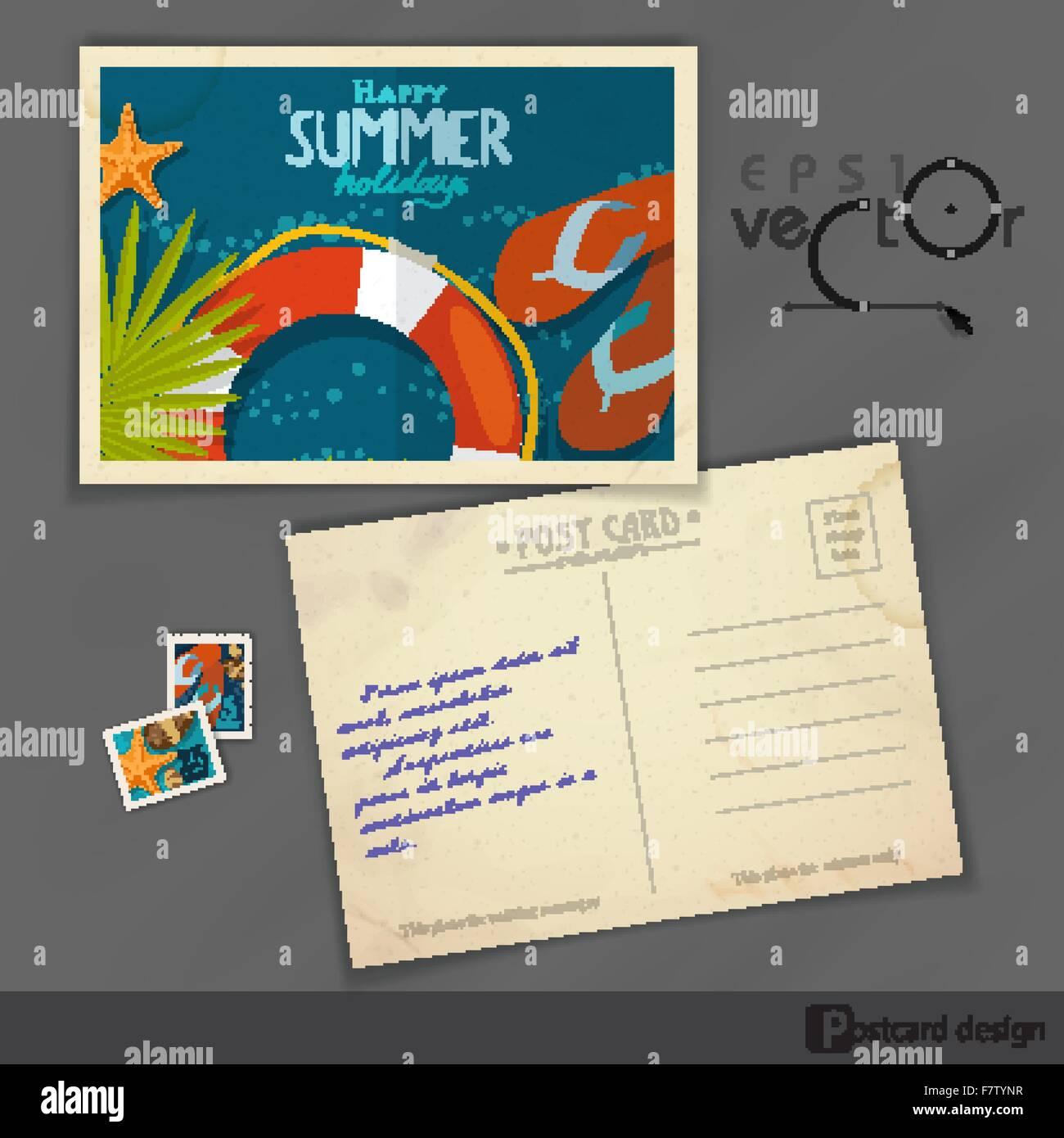 Ausgezeichnet Moo Postkarte Vorlage Galerie - Entry Level Resume ...