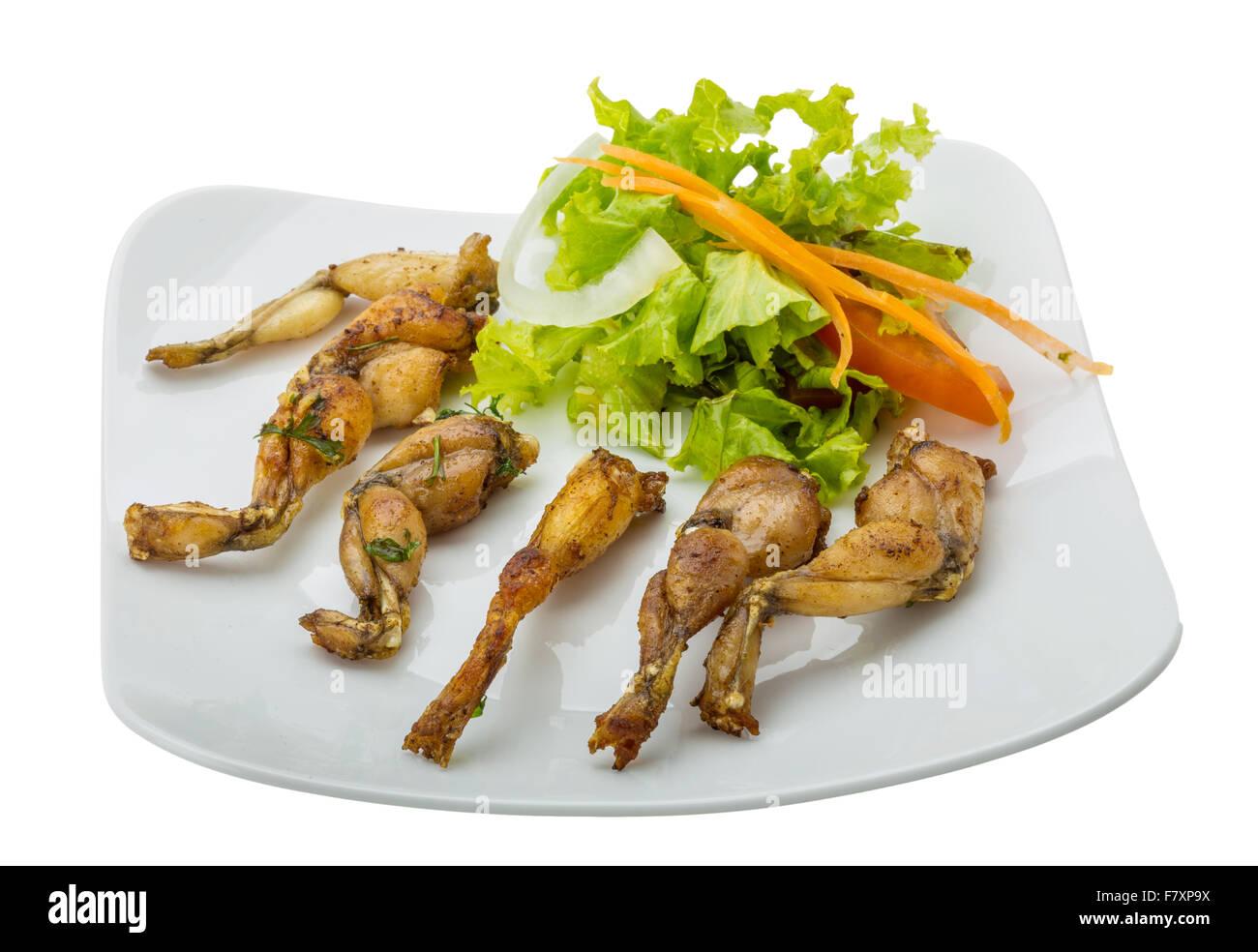 Französische küche froschschenkel  Eating Frog Legs Stockfotos & Eating Frog Legs Bilder - Alamy
