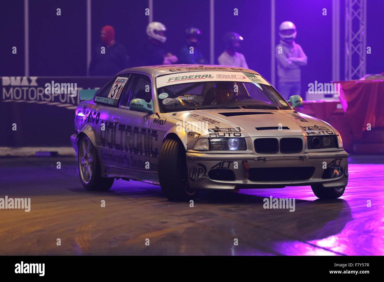 Essen, Deutschland. 3. Dezember 2015. Essen Motor Show.  DMAX Motorsport Arena. Bildnachweis: Ashley Greb/Alamy Stockbild